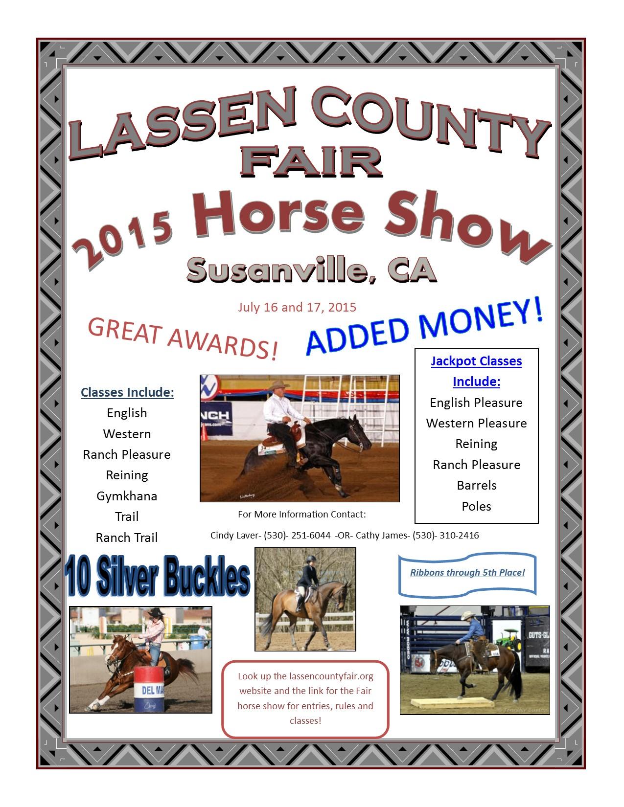 County Horse Shows Fair Horse Show Rule 2015