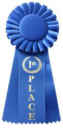 blue ribbon