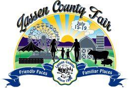 Lassen County Fair logo