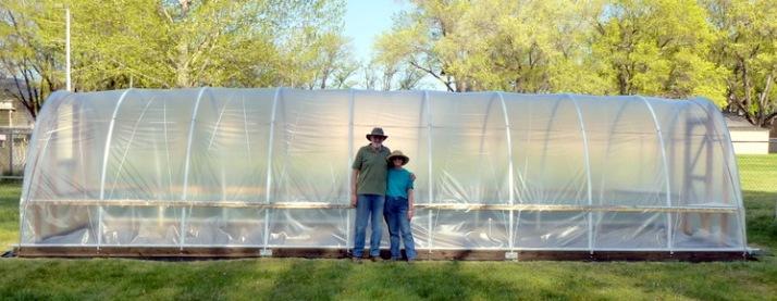 Mike & Kathy - Hoop House