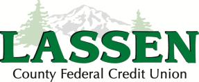 Lassen County Federal Credit union Logo