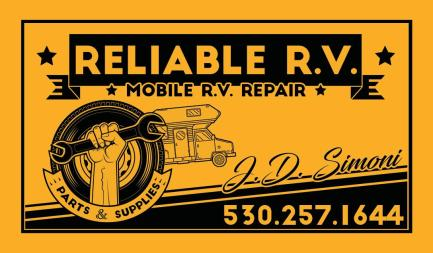 Reliable RV - Bus Card